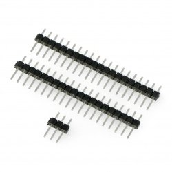 Set of male connectors for Raspberry Pi Pico - 2x 1x20 and 1x3