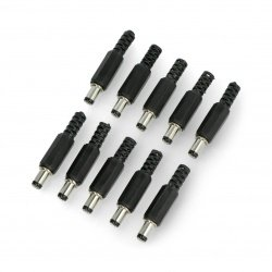 DC plug 5,5x2,5mm for cable...