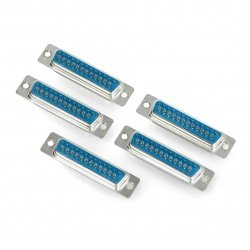 D-SUB 25 connector for cable - 5pcs.