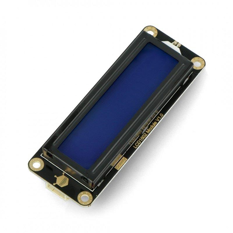 DFRobot Gravity - 2x16 I2C LCD display - blue