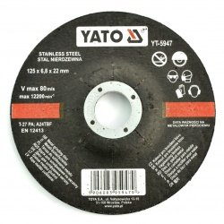Metal grinding disc Yato...
