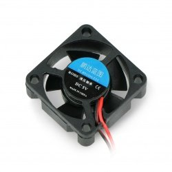 Fan 5V 30x30x10mm 2 wires -...