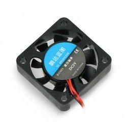 Fan 5V 40x40x10mm 2 wires -...