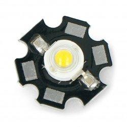 Power LED Star 1W - warm...