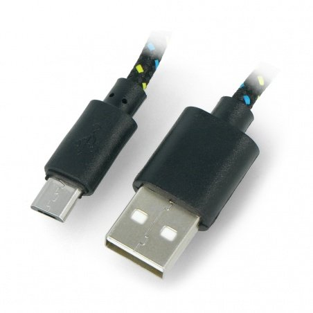 USB A - B cable braided 3m