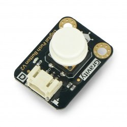DFRobot Gravity - digital button Tact Switch - white