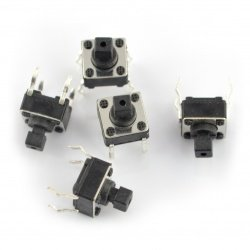 Tact Switch 6x6mm / 7mm THT...