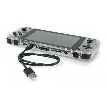 Odroid Go Super - Portable Game Console - Clear White
