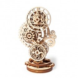Clock - mechanical model for assembly - veneer - 43 elements -