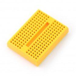 Breadboard - 170 holes yellow