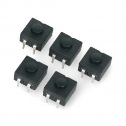 Bistable switch with a circular nozzle PB-12A - 30V/1A - 5pcs.