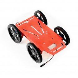 Feetech FT-MC-003-KIT 4WD - Aluminium 4 Wheel Robot Chassis +