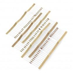 Set of resistors for CF THT...