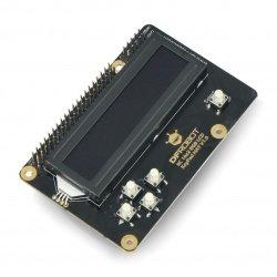 16x2 RGB LCD display I2C...