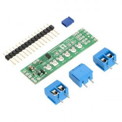 DRV8835 - dual channel 11V/1.2A motor controller - shield for
