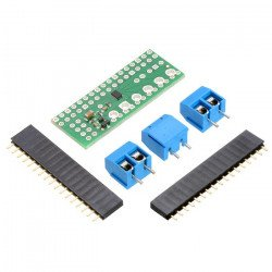 DRV8835 - two-channel 11V/1.2A motor controller - overlay