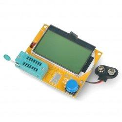 Transistor and RLC tester...