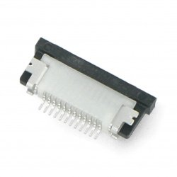 Female connector ZIF,...