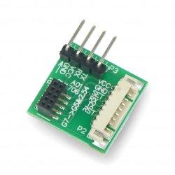 Adapter IDC 10pin 1.27mm -...