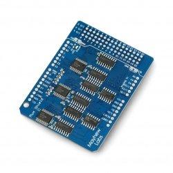 Mux Shield II GPIO expander...