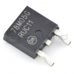 Linear voltage regulator 5V...