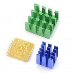 Raspberry Pi 3B+ mounting elements