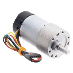 DC motors with gearbox and encoders