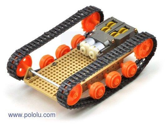 Podwozie czołgu z elementów Tamiya