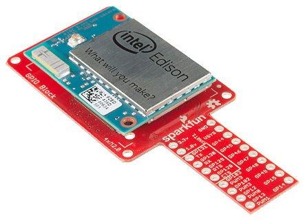 Moduł GPIO - Intel Edison