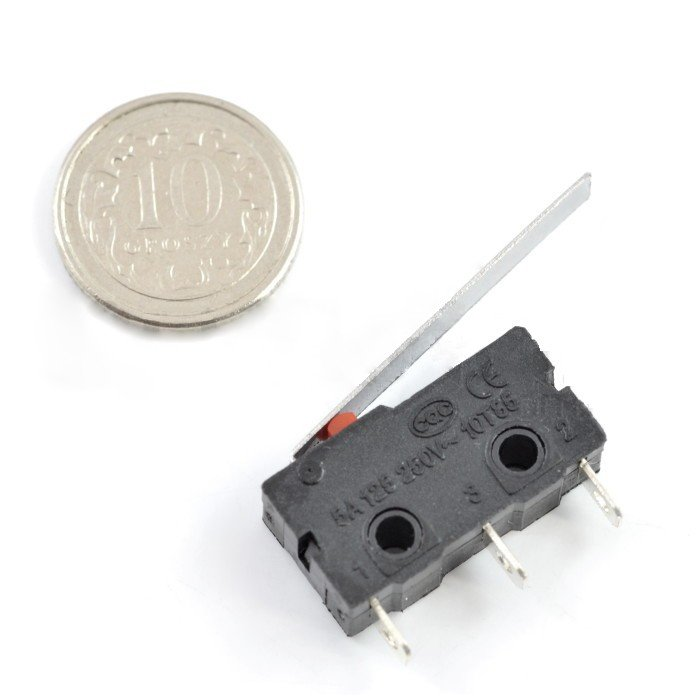 Limit switch mini with lever - WK612