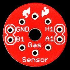 Czujnik gazu z podstawką