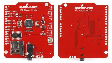 MP3 Player Shield - SparkFun