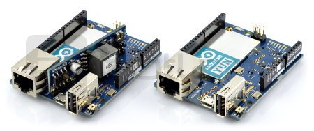 Arduino Yun - wifi - moduł platforma