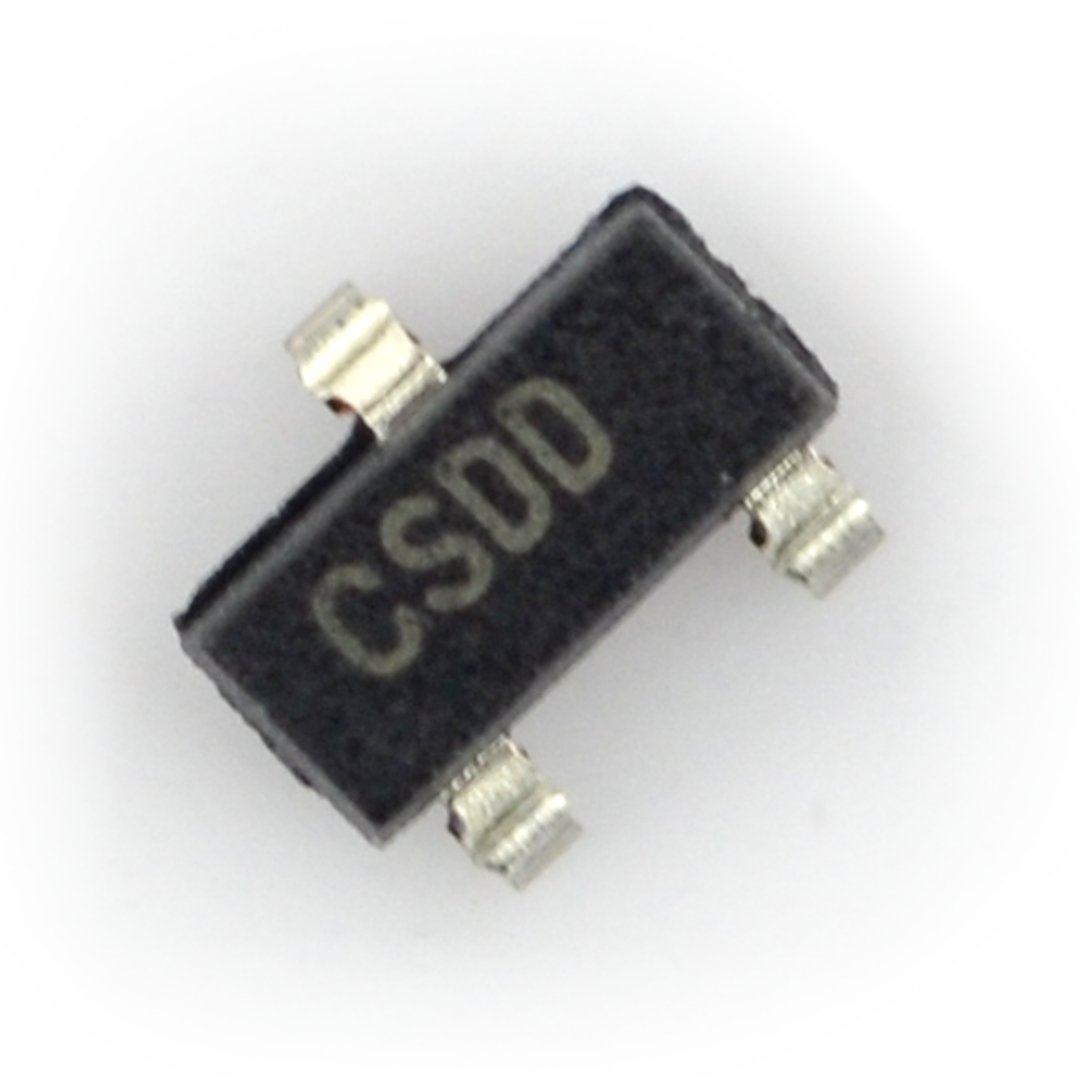 Stabilizator liniowy Low-Dropout 3,3 V - SMD SOT-23.