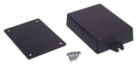 The Kradex Z54U case is made of black plastic.