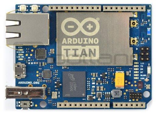 Arduino Tian z kontrolerem WiFi