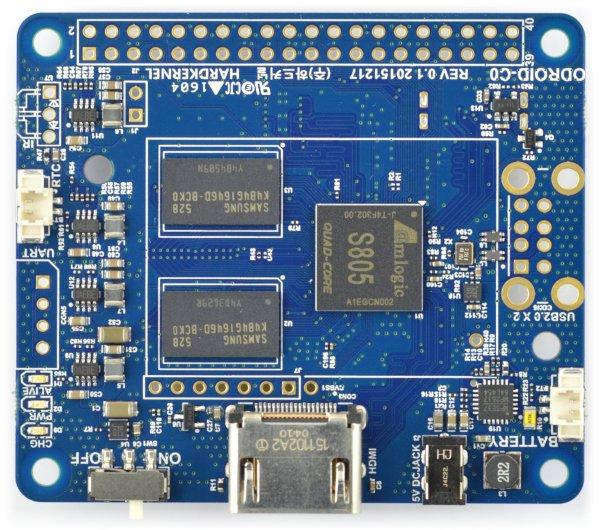 Odroid C0 Quad-Core 1,5GHz 1GB RAM