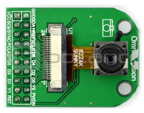 ArduCam OV2640 2MPx do Arduino