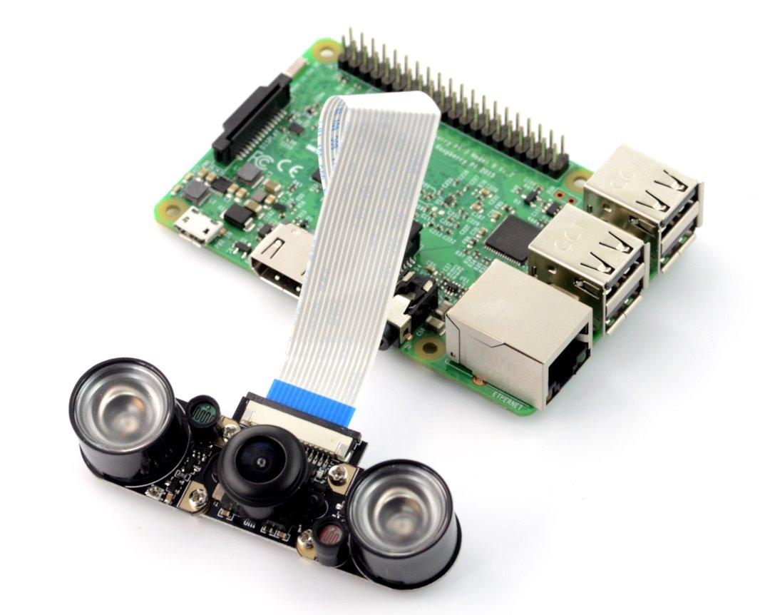 Kamera nocna - Raspberry Pi