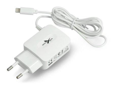 Zasilacz Lightning i gniazdo USB