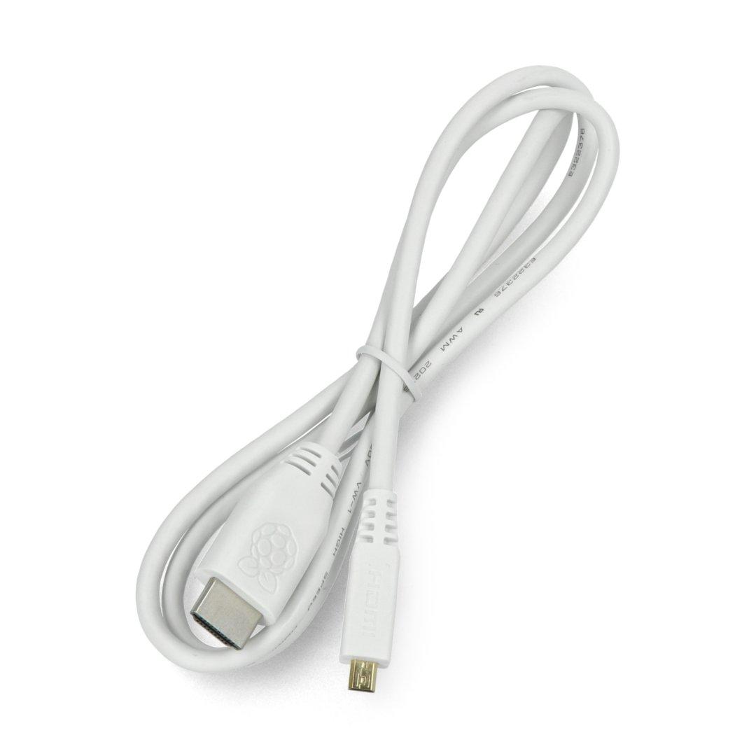 Oficjalny przewód HDMI Raspberry Pi