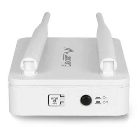 Router Lanberg pracuje w zakresie 2,4 GHz.