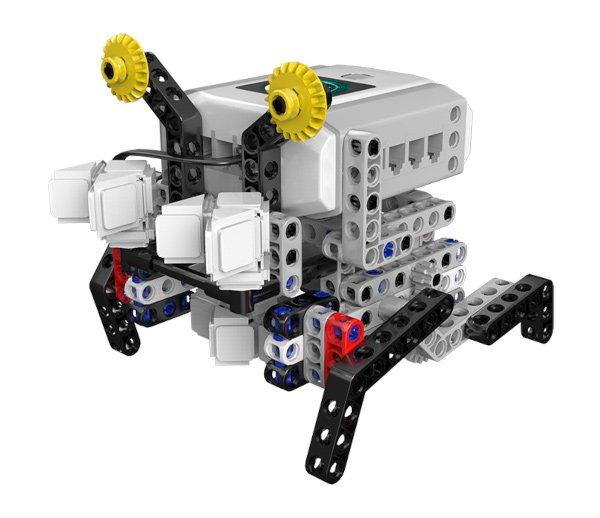 Rob-Crab zbudowany przy wykorzystaniu zestawu.