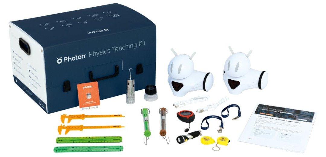 Photon Moduł Fizyka - zestaw 2x Robot Photon