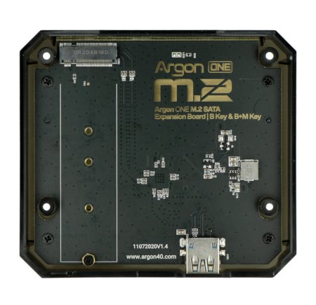 Płytka rozszerzeń Argon One M.2 do Raspberry Pi 4B.