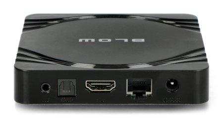 Odtwarzacz multimedialny Android 9.1 TV BOX z funkcją Smart TV.