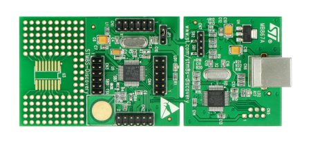 STM8S Discovery - STM8S105C6T6.