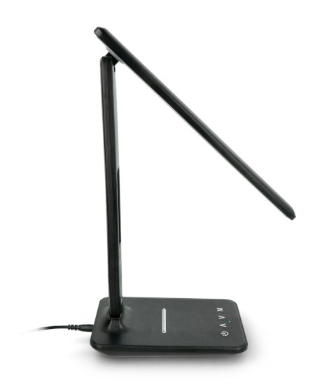 Lampka biurowa LED Tracer Nero LCD - czarna