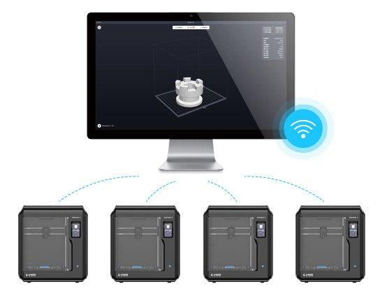 Możliwość zarządzania wieloma drukarkami we Flashprint