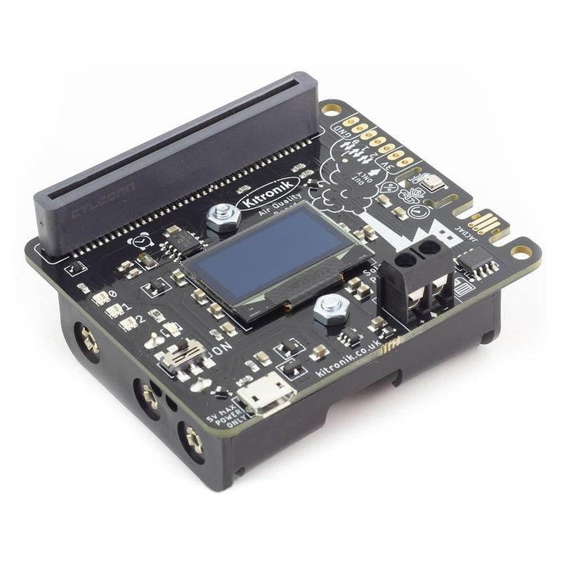 Air Quality and Environmental Board - Płytka z czujnikiem jakości powietrza i środowiskowym dla BBC micro:bit - Kitronik 5674